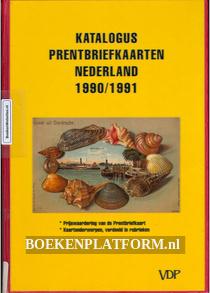 Katalogus prentbrief kaarten Nederland 1990/1991