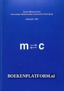 Jaarboek 1993 Sectie Millieuchemie