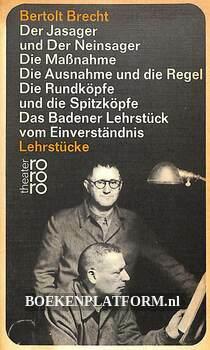 Bertolg Brecht Lehrstücke
