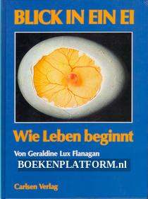 Blick in ein Ei