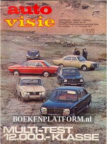 Autovisie 1971 Complete jaargang