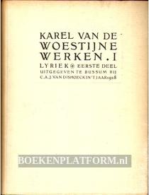 Karel van de Woestijne Werken I