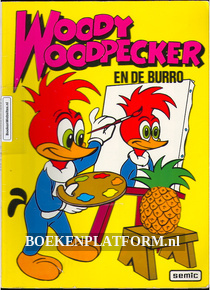 Woody Woodpecker en de burro