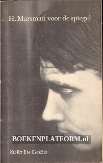 H. Marsman voor de spiegel