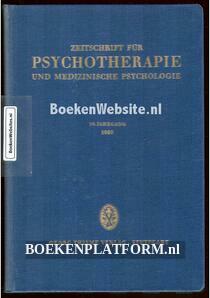 Zeitschrift fur Psychotherapie und Medizinische Psychologie 1960