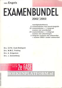 Examenbundel VWO Engels 2002/2003