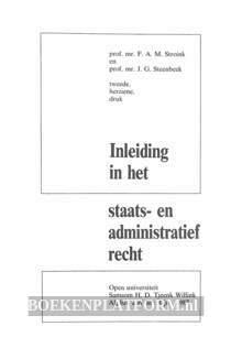 Inleiding in het staats- en administratief recht