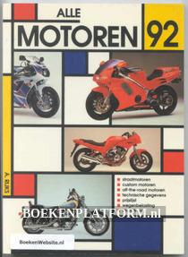 Alle motoren 1992