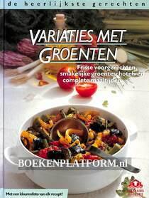 Variaties met groenten