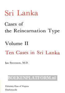 Cases of the Reincarnation Type Vol.II