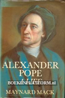 Alexander Pope, A Life