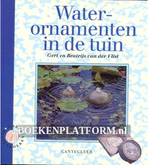 Water ornamenten in de tuin