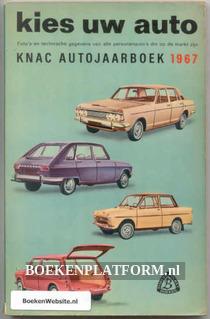 B0006 Kies uw auto/Knac Autojaarboek 1967