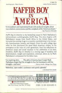Kaffir Boy in America