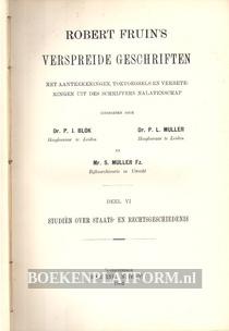 Robert Fruin's verspreide geschriften VI
