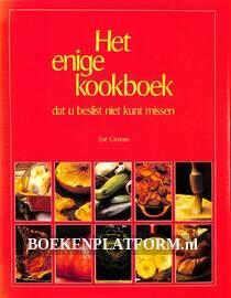 Het enige kookboek dat u beslist niet kunt missen