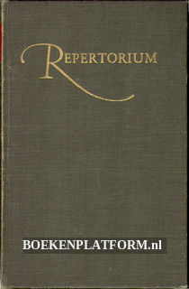 Algemeen Repertorium I