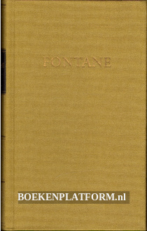 Fontanes Werke 3