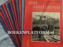 Ons Amsterdam 1954 Complete jaargang