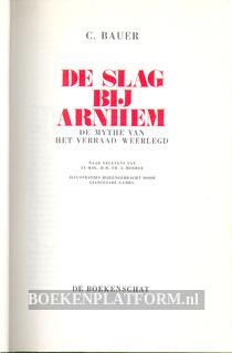 De slag bij Arnhem