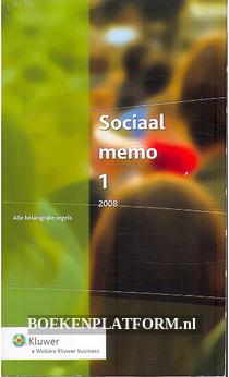 Sociaal memo 1 2008
