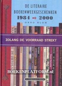 De literaire boekenweekgeschenken 1984-2000