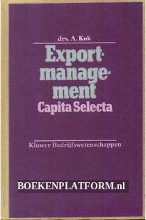 Exportmanagement Capita Selecta