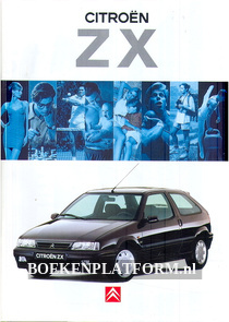Citroen ZX brochure 1994