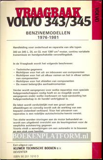 Vraagbaak Volvo 343/345