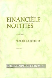 Financiële notities I