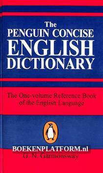 The Penquin Concise English Dictionary