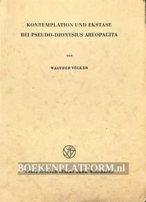 Kontemplation und Ekstase bei Pseudo-Dionysius Areopagita