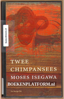 Twee chimpansees
