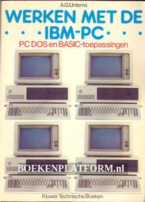 Werken met de IBM-PC