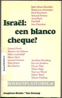 Israel: een blanco cheque?