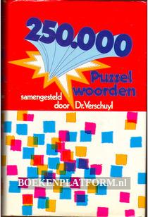 250.000 Puzzelwoorden