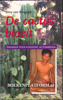 De cactus bloeit