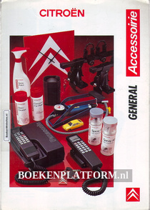 Citroen accesoires General 1988 brochure