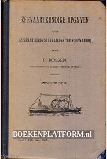 Zeevaartkundige opgaven