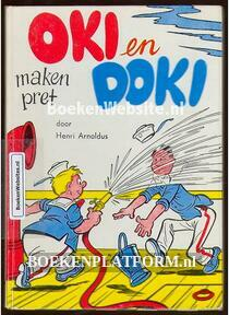 Oki en Doki maken pret
