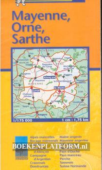 Michelin 310 Mayenne, Orne, Sarthe