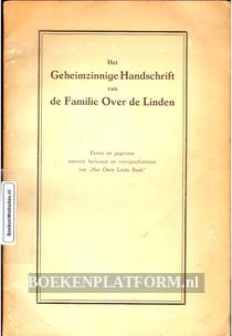 Het Geheimzinnige Handschrift van de Familie Over de Linden