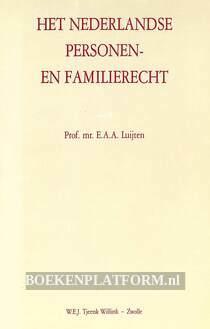 Het Nederlandse personen- en familierecht II