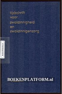 Tijdschrift voor Zwakzinnigheid en Zwakzinnigen zorg 1970