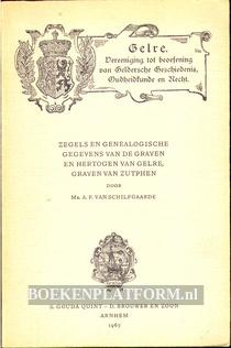 Zegels en genealogische gegevens van de graven...