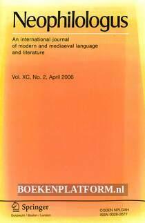 Neophilologus 04-2006