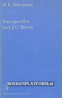 Vier opstellen over J.C. Bloem