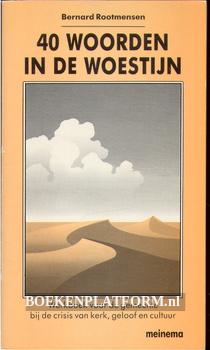 40 woorden in de woestijn