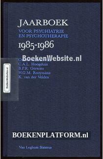 Jaarboek voor psychiatrie en psychotherapie 1985 t/m 1986