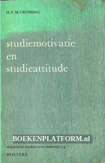 Studiemotivatie en studieattitude